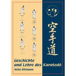 Libro Geschichte und Lehre des Karatedo, Heiko Bittmann, tedesco