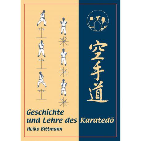 Libro Geschichte und Lehre des Karatedo, Heiko Bittmann, alemán