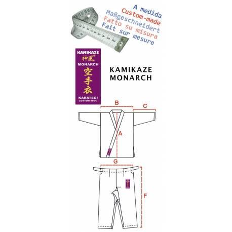 Kamikaze Karategi MONARCH - Maßgeschneidert