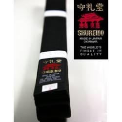 Cinturón Shureido negro algodón