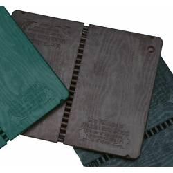 Planche à rompre et ré-utilisable, couleur: marron