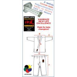 Karategi Kamikaze NEW LIFE EXCELLENCE - Custom made