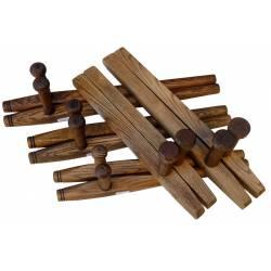 Tonfa / Tuifa bois de frêne, rond