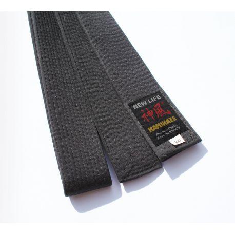 4//270 cm Premium Quality Kamikaze Schwarzgurt Satin//Kunstseide EXTRA-DICK