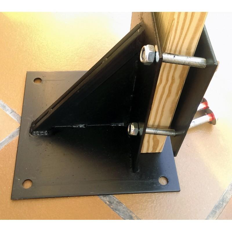 kamikaze makiwara complet pour fixation au sol 100 karate. Black Bedroom Furniture Sets. Home Design Ideas