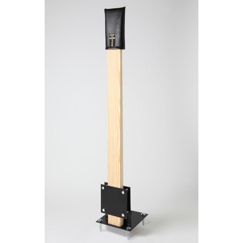 kamikaze makiwara complet pour fixation au sol shop online karate kobudo. Black Bedroom Furniture Sets. Home Design Ideas