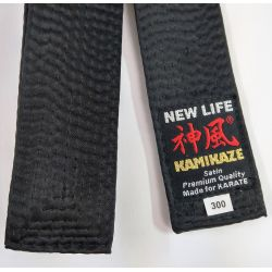 Satin BLACK BELT KAMIKAZE SPECIAL THICK, Premium Quality