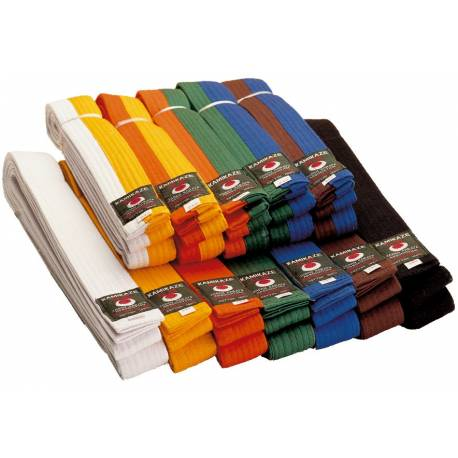 43c6bb68e4f ceinture de couleur karaté piquée Kamikaze
