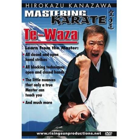 DVD TE-WAZA par Hirokazu KANAZAWA