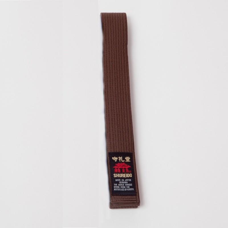 brown belt shureido
