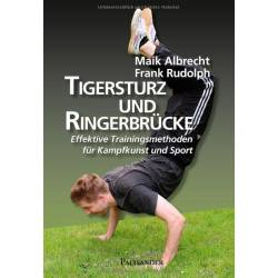 Libro Tigersturz und Ringerbrücke Effektive Trainingsmethoden, Albrecht & Rudolph, tedesco