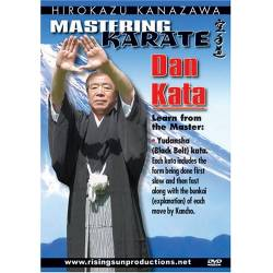 DVD DAN KATA par Hirokazu KANAZAWA