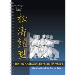 Livre Die 26 Shotokan-Kata im Überblick, Fiore Tartaglia, allemagne