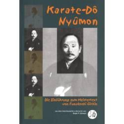 Libro KARATE-DO NYUMON, Gichin FUNAKOSHI, tedesco