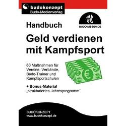 Libro GELD verdienen mit Kampfsport, Budokonzept, tedesco