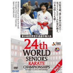 DVD 24 º CAMPIONATO del MONDO WKF 2018 MADRID, SPAGNA, VOL.1