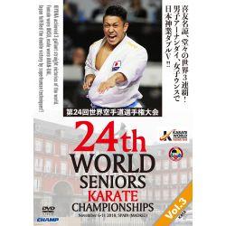 DVD 24. WELTMEISTERSCHAFT WKF 2018 MADRID SPANIEN, VOL.3