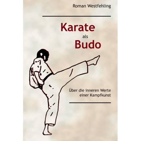 Book Karate als Budo, Roman Westfehling, German