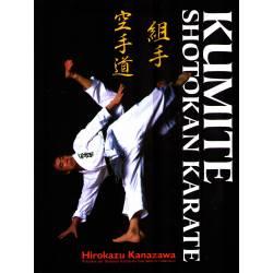 Libro KUMITE SHOTOKAN KARATE, Hirokazu KANAZAWA, Hardcover, tedesco
