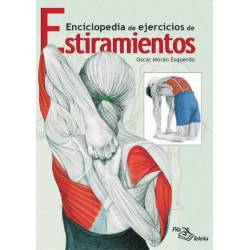 Libro Enciclopedia Ejercicios Estiramientos, Oscar M. Esquerdo, español [DS-06822]