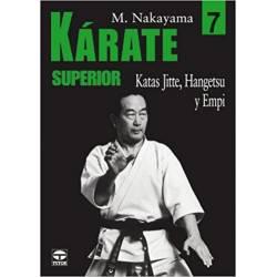 Serie de libros 'KARATE SUPERIOR', M. NAKAYAMA, Vol.7