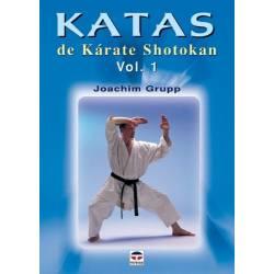 Libro KATAS de Karate Shotokan, vol.1 por Joachim Grupp, español