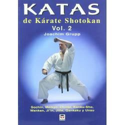 Libro KATAS de Karate Shotokan, vol.2 por Joachim Grupp, español