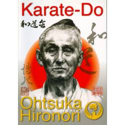 Libro KARATE-DO por el maestro Hironori OTSUKA, fundador del Wado ryu