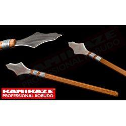 ROCHIN KAMIKAZE PROFESSIONAL KOBUDO, ponta em aço inoxidável, cabo de carvalho