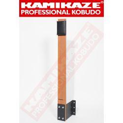 MAKIWARA KAMIKAZE PROFESSIONAL complet pour fixation au MUIR, bois et coussin de frappe