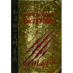 Book THE SHÔTÔKAN-KARATE DICTIONARY by Schlatt