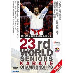 DVD WORLD CHAMPIONSHIPS WKF 2016 LINZ, AUSTRIA, VOL.1