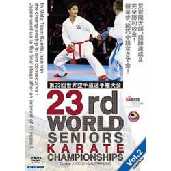 Campeonato mundiais de Karate WKF 2016 em DVD LINZ, ÁUSTRIA, VOL.2