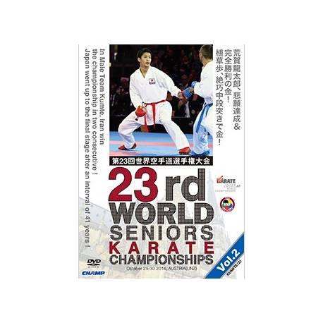 DVD CHAMPIONNAT DU MONDE FMK/WKF 2016 LINZ, L'AUTRICHE, VOL.2