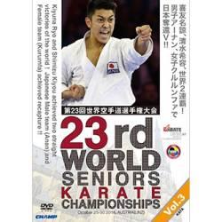 DVD CAMPIONATO del MONDO WKF 2016 LINZ, AUSTRIA, VOL.3