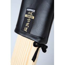 KAMIKAZE Makiwara cover, padded artificial leather, black