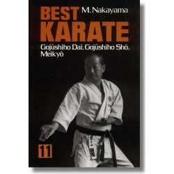 Livro BEST KARATE M. NAKAYAMA, Inglês