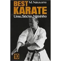 Libro BEST KARATE M. NAKAYAMA, Vol.10 inglese