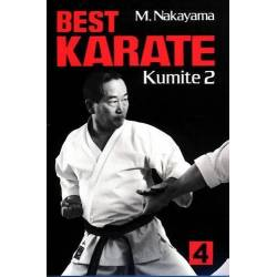 Libro BEST KARATE M. NAKAYAMA, vol.4 inglese
