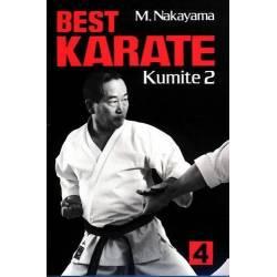 Livro BEST KARATE M. NAKAYAMA, vol.4 Inglês