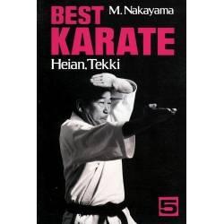 Book BEST KARATE M.NAKAYAMA,Vol.05 english