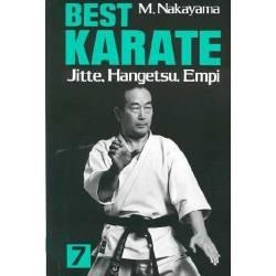 Libro BEST KARATE M. NAKAYAMA, inglese Vol.07