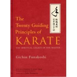 Book FUNAKOSHI Twenty Guiding Principles of Karate, English