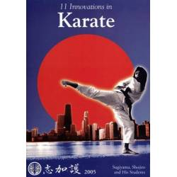 Livre 11 INNOVATIONS IN KARATE, S. SUGIYAMA, anglais