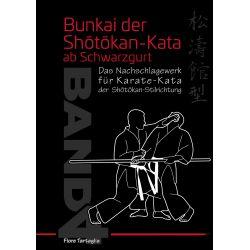 Libro Bunkai der Shôtôkan-Kata ab Schwarzgurt, Band 4, Fiore Tartaglia, tedesco