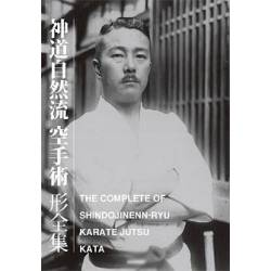 Libro THE COMPLETE KATA OF SHINDO JINENN RYU KARATE JUTSU, inglese e giapponese BOK-391