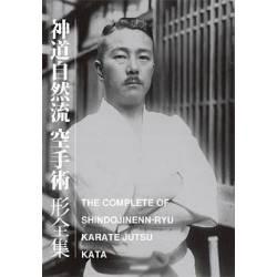 Livre THE COMPLETE KATA OF SHINDO JINENN RYU KARATE JUTSU, anglais et japonais BOK-391