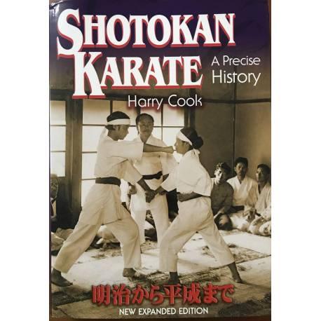 Livre Shotokan Karate - A Precise History, Harry COOK, anglais