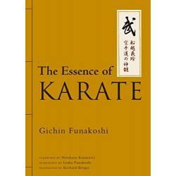 Livre FUNAKOSHI The Essence of Karate, anglais.