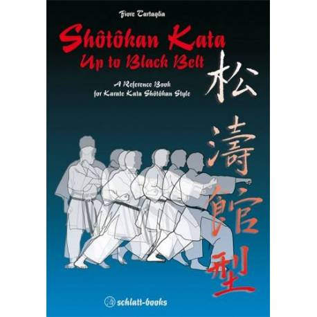 Livre Shotokan Kata up to black belt, Fiore Tartaglia, anglais